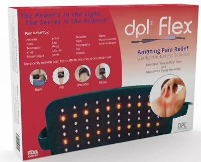 dpl Flex Pad Pain Relief LED Light Therapy Wrap System Back Full Body NEW