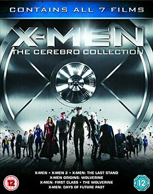 X-Men - The Cerebro Collection [Blu-ray] [2014] - DVD  UCVG The Cheap Fast Free