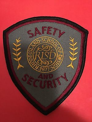 Rhode Island School Of Design Security Shoulder Patch