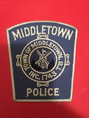Middletown  Rhode Island Police  Shoulder Patch