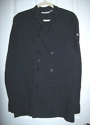 Chef Works Own the Kitchen Coat Men's Double Breasted Long Sleeve Size Medium