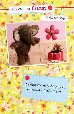 Elliot /& Buttons Mum Happy Mother/'s Day Card Cute Range Greeting Cards