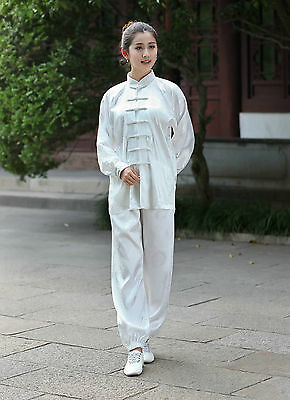 New Tradition Chinese Style Women's Kung Fu Suit Tai Chi Clothing  W2526-11#