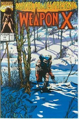 Marvel Comics Presents #77 Vol.1 (Wolverine) Vf/nm Weapon X