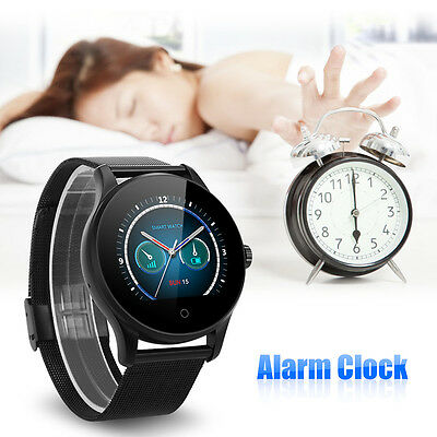 Waterproof Bluetooth Smart Wrist Watch Heart Rate Fitness For Android iOS iPhone