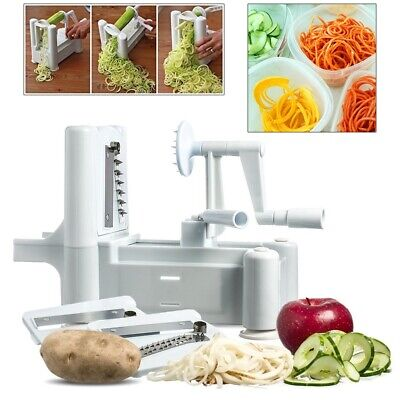 Spiralizer Spiral Slicer Cutter Chopper For Fruit & Vegetables Twister Peeler