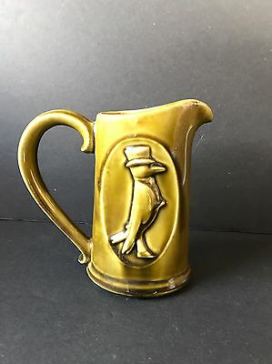 Vintage Old Crow Whiskey Bourbon Pitcher