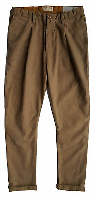 ZARA Boys Trousers MUSTARD YELLOW Vintage Style Casual Pants 11-12 y £19.99 NWT