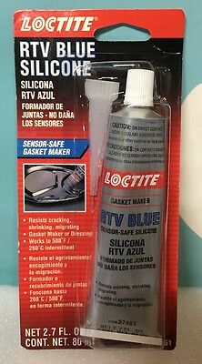 Sealing Compound RTV Blue Silicone Gasket Maker 80 ml Tube LOCTITE 37461 US