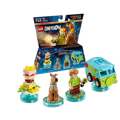 LEGO Dimensions Scooby-Doo Team Pack 71206 new sealed