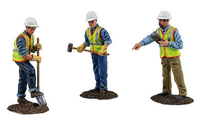 First Gear 90-0481 Construction Figures 3-Piece Set Worker digging