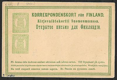 Finland covers 8Penni Pair Classic PC not sent  Thin Paper