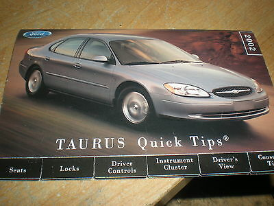 2002 ford taurus manual