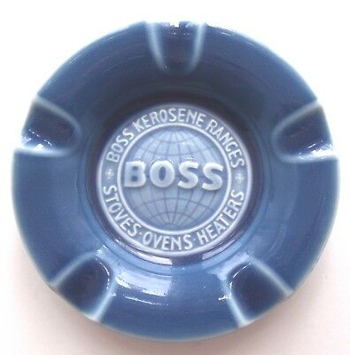 Rookwood commemorative ashtray made for Boss ranges c.1947