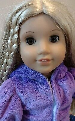 AMERICAN GIRL DOLL + Clothes blonde Brown eyes pretty Authentic AG Pants Shoes