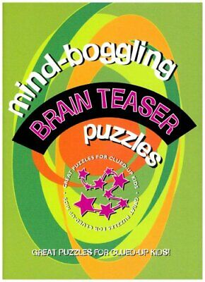 Mind Boggling Brain Teaser Puzzles for Kids (Lagoon) Hardback Book The Cheap