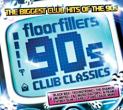 Various Artists - Floorfillers 90's Club Classics - Various Artists CD 5SVG The