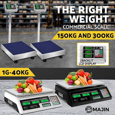 Electronic Digital Scale Commercial Shop Platform Kitchen Postal Weight Scales