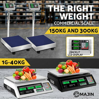 i.Precision Electronic Digital Scale Commercial Shop Platform Kitchen Scales