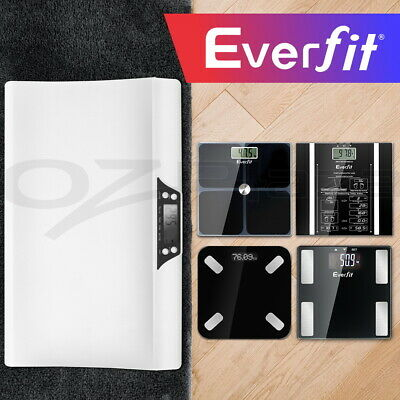 Everfit Electronic Digital Body Fat Scale Baby Scales Bathroom Gym Weight LCD
