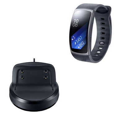 NEW Charging Cradle Dock Charger for Samsung Gear Fit2 SM-R360 R360 Smart Watch
