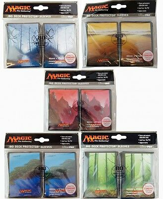 80 Mana 5 Magic MtG Sleeves - Ultra Pro (66x91mm)