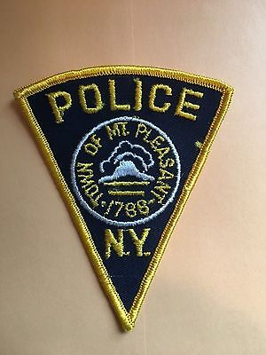 Town Of Mt Pleasant New York   Shoulder Patch