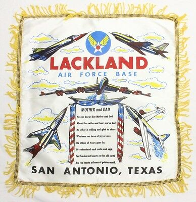 Home Front:  Pillow Cover - Lackland Air Force Base San Antonio, Tex