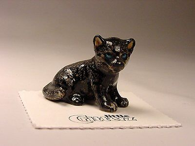 """Little Critterz - LC124 """"Stealth"""" Black Panther Cub"""