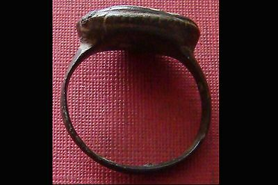 Antique Large Bronze Ring - Metal detecting finds