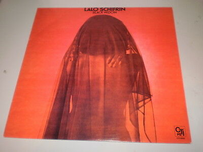 Lalo Schifrin -  Black Widow - 1976 Lp - Cti Records - Made In Italy -