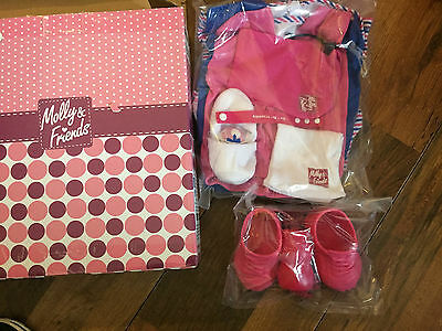 Molly and Friends Value Pack 20 Pieces. Dolls clothes/outfits, Large 25cm doll