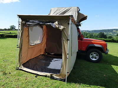 Expedition Awning Outdoor Tent For 4X4S Vans And Motorhomes Boxed - 2M X 2.5M