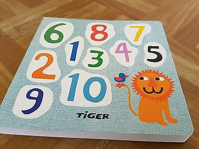 Pre Schoool Baby Childrens Fun Number Counting Learning Hardback Wipe Clean Book