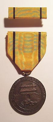 VINTAGE (50s 60s Era) U.S.M.C. China Relief Expedition Medal with Ribbon