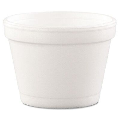 Dart 4J6 Bowl Containers Foam 4oz White (Case of 1000) New