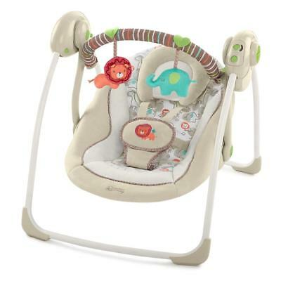 Bright Starts Comfort & Harmony Baby Swing (Cozy Kingdom)