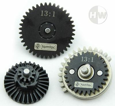 AIRSOFT HIGH SPEED 13:1 GEAR SET M SERIES AK V2 V3 QUALITY STEEL gearbox cogs