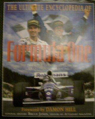 The Ultimate Encyclopedia of Formula One by Bruce (Ed.) JONES Book The Cheap