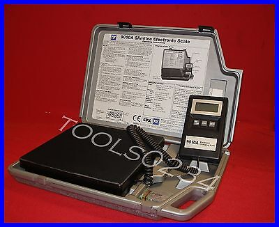 New Robinair TIF9010A Slimline Refrigerant Electronic Charging/Recover Scale