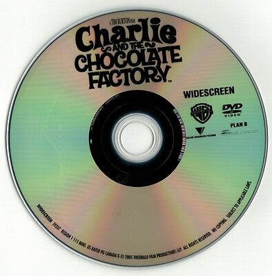 Charlie and the Chocolate Factory (DVD disc) Johnny Depp