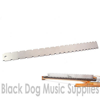 Notched fret board / fingerboard  straight edge for guitar neck leveling
