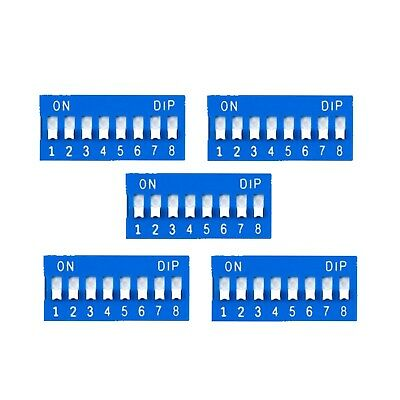 5 Pcs 8-position DIP Switch #275-1301 By Amp