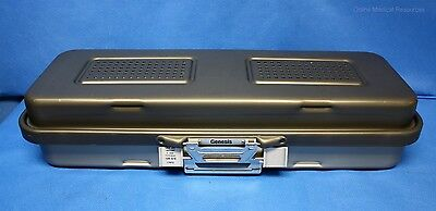 """Genesis Endoscope Sterilization Container Perforated Bottom 28""""x11""""x6"""" CD5-61B"""