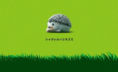 Takara Tomy Panda's ana Shakurel Planet Part2 Wild Animal Hedgehog Figure