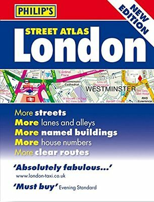Philip's Street Atlas London: Mini Paperback Edition by Philip's Maps Book The