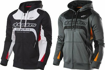 Alpinestars Mens Session Zip Front Fleece Hoody Sweatshirt