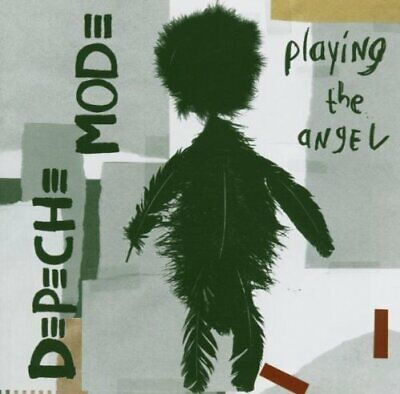 Depeche Mode - Playing the Angel - Depeche Mode CD NGVG The Cheap Fast Free Post