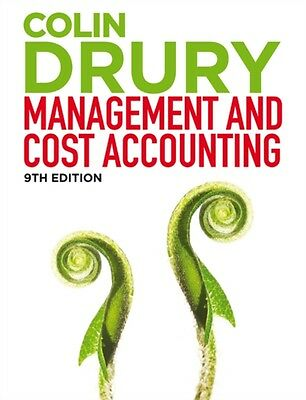 Management and Cost Accounting: Student Manual (Paperback), Drury. 9781408093948