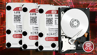 Hard Disk Interno Wd Red Nas 1Tb 2Tb 3Tb 4Tb 6Tb 8Tb Hd